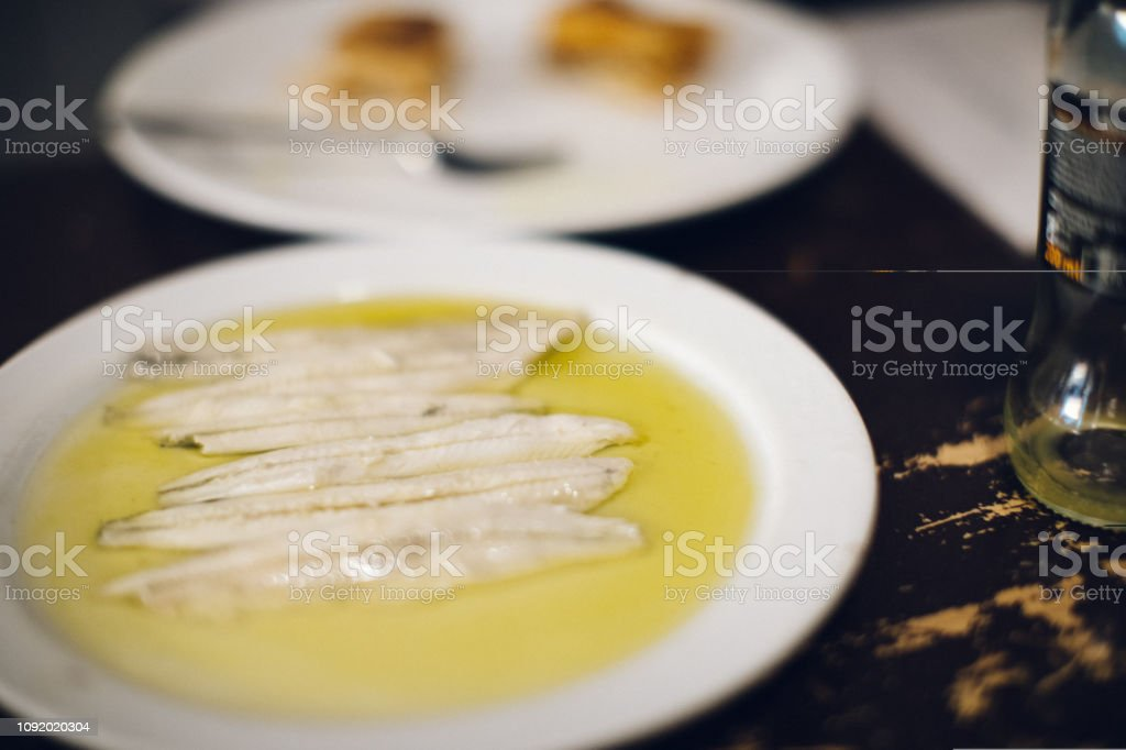 traditional Spanish tapas stock photo