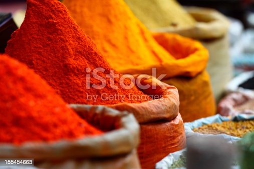 Traditional spices market