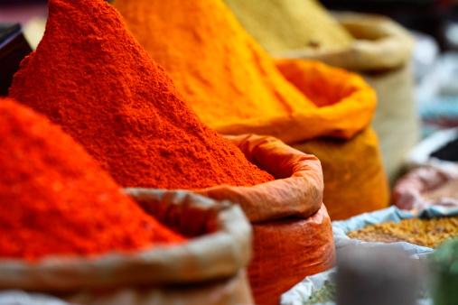 Mercato Di Spezie Tradizionali - Fotografie stock e altre immagini di Affari