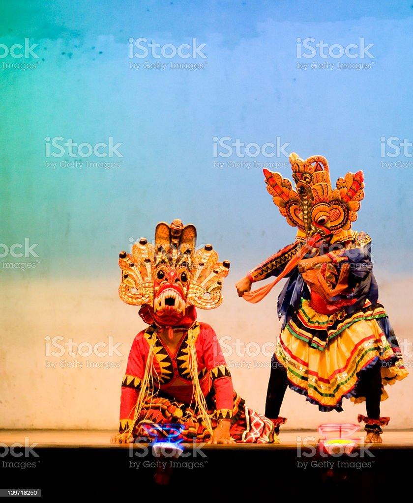 Traditionelle Sri Lanka Maske Dance – Foto