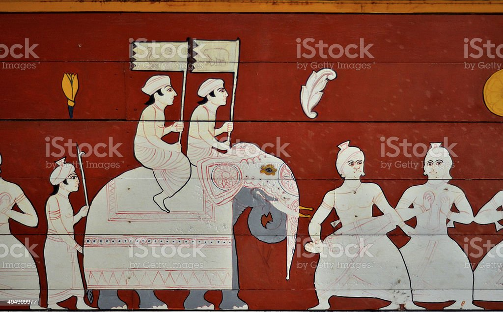 Traditional Sri Lankan Arts - Kandy stock photo