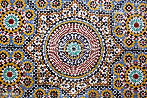 istock Traditional stone mosaic 185211393
