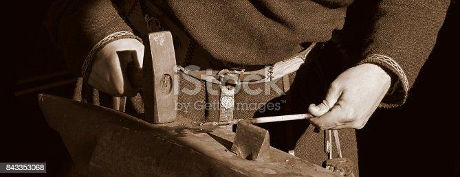 istock Traditional style blacksmith 843353068