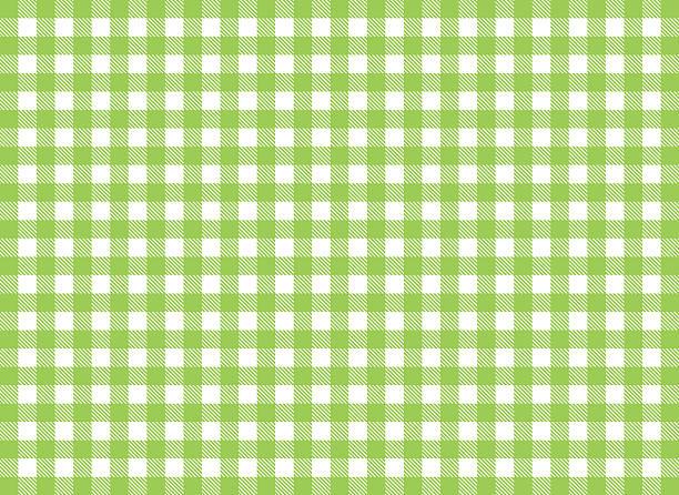 Traditionelle tabelcloth Muster Hintergrund Weiß und Grün – Foto