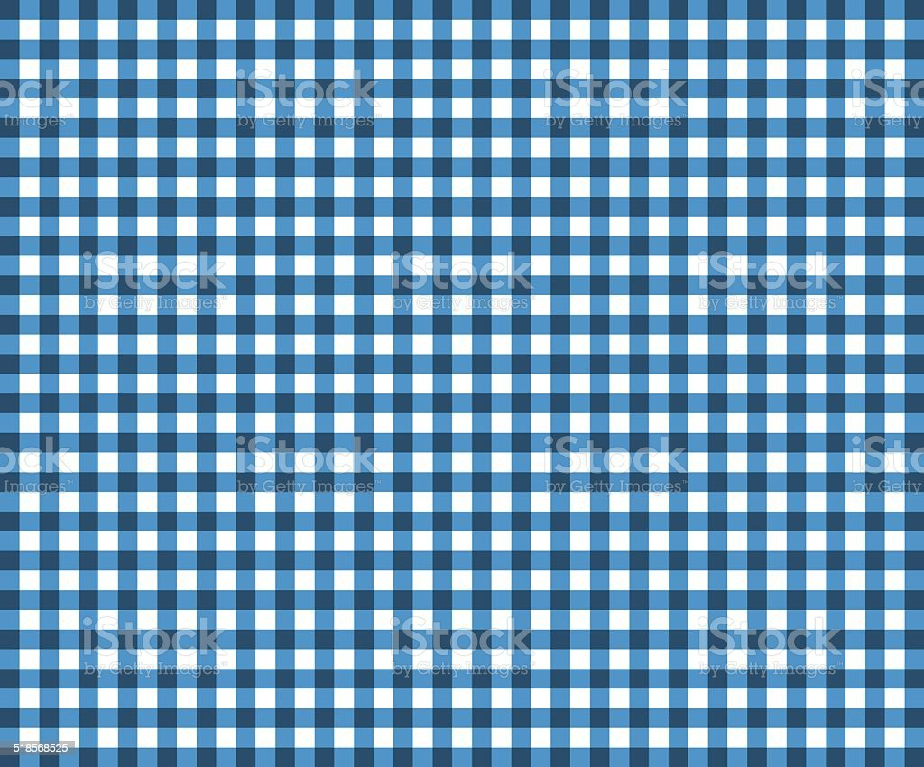 Traditional tablecloth pattern in light gray and blue stock photo