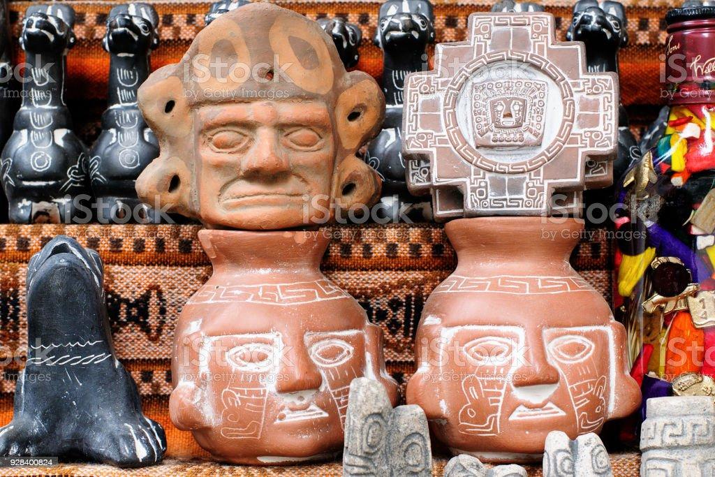 Traditional talismans stock photo
