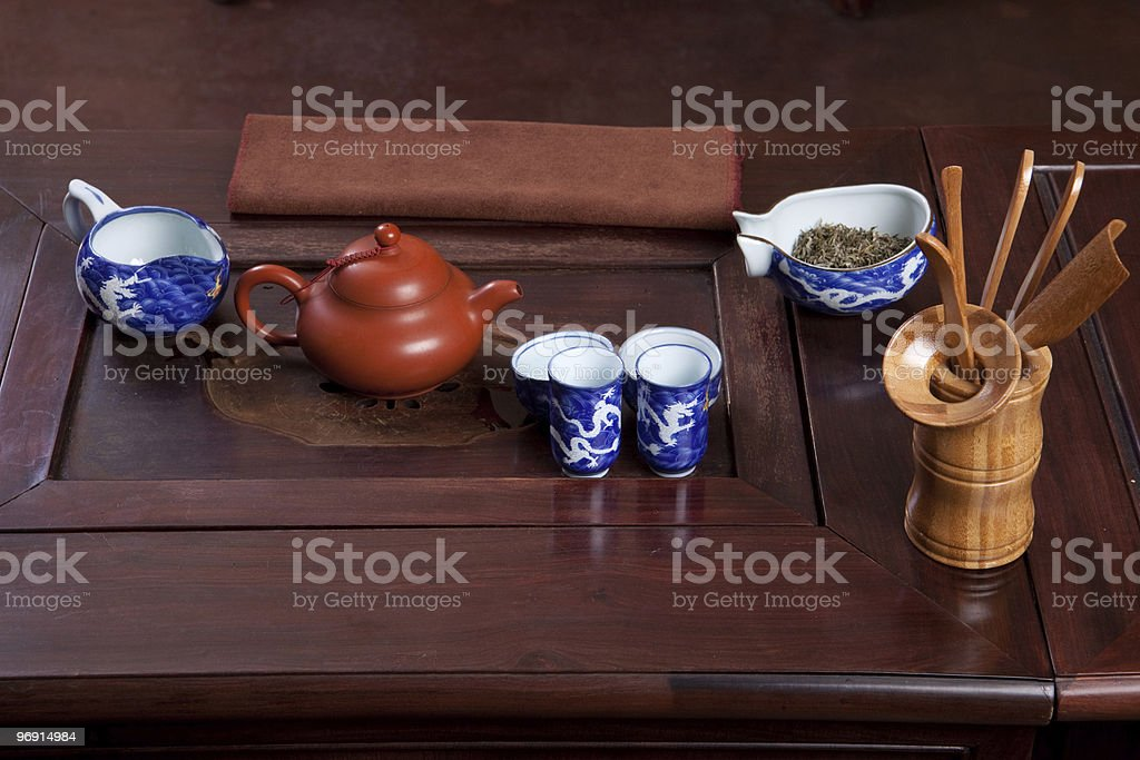 Traditional tea house royalty-free stock photo