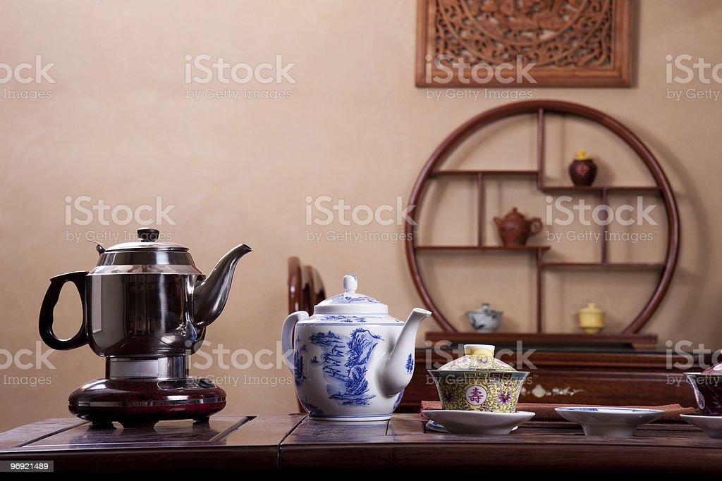 Traditional tea house royalty-free stock photo