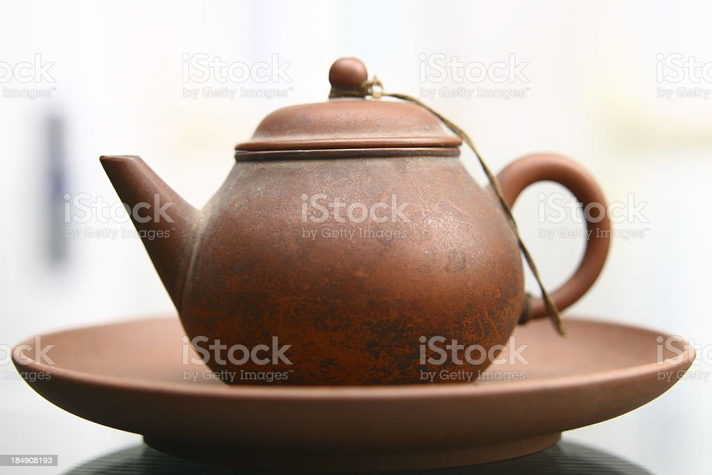 traditional teapot royalty-free stock photo