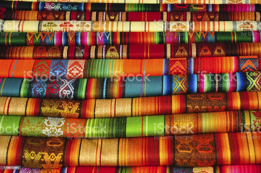Traditional Textiles stock photo