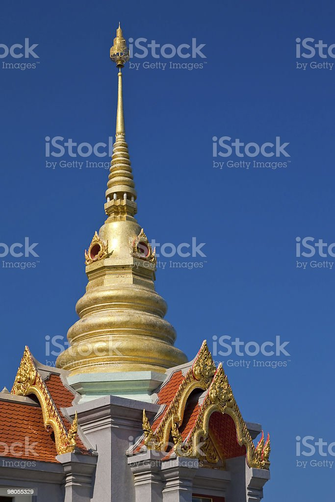 Traditional Thai style architecture royalty-free stock photo