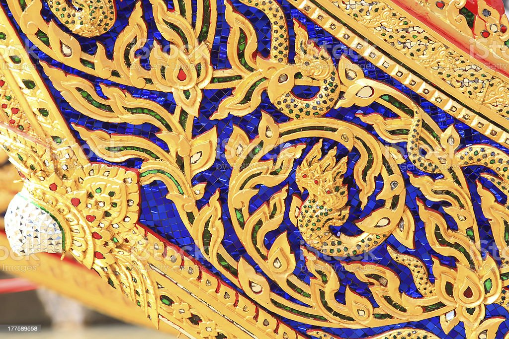 Traditional Thai style art pattern royalty-free stock photo
