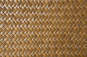 traditional thai style pattern nature background of handicraft weave texture wicker surface for furniture material