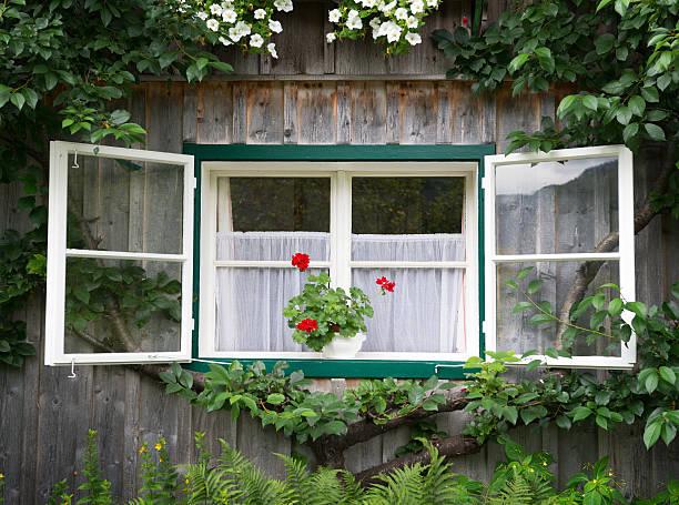 Traditional Timbered Country House, Bavaria, Germany (XXXL) stock photo