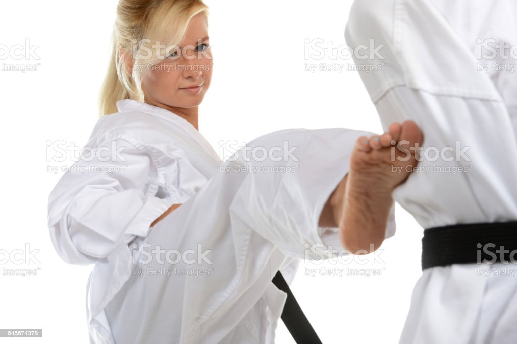 Traditional Training and Exercise stock photo