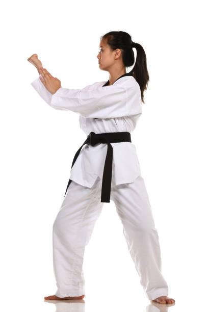 Traditional Training stock photo