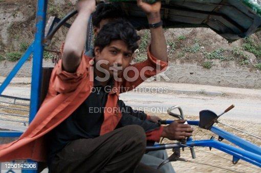 istock Traditional transportation in Nepal. 1250142906