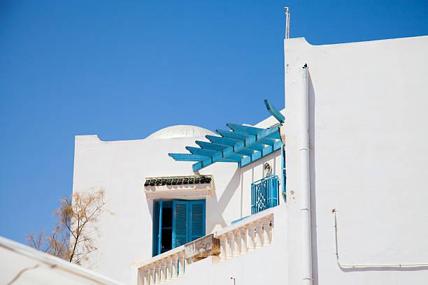 Traditionelle Tunesische Fenster Djerba – Foto