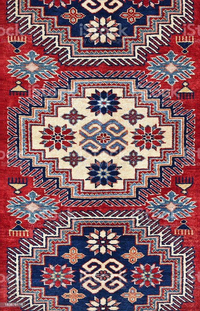 Traditional Turkish Carpet stock photo