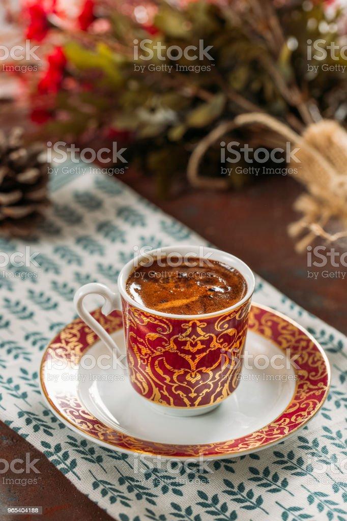 Traditional Turkish Coffee zbiór zdjęć royalty-free