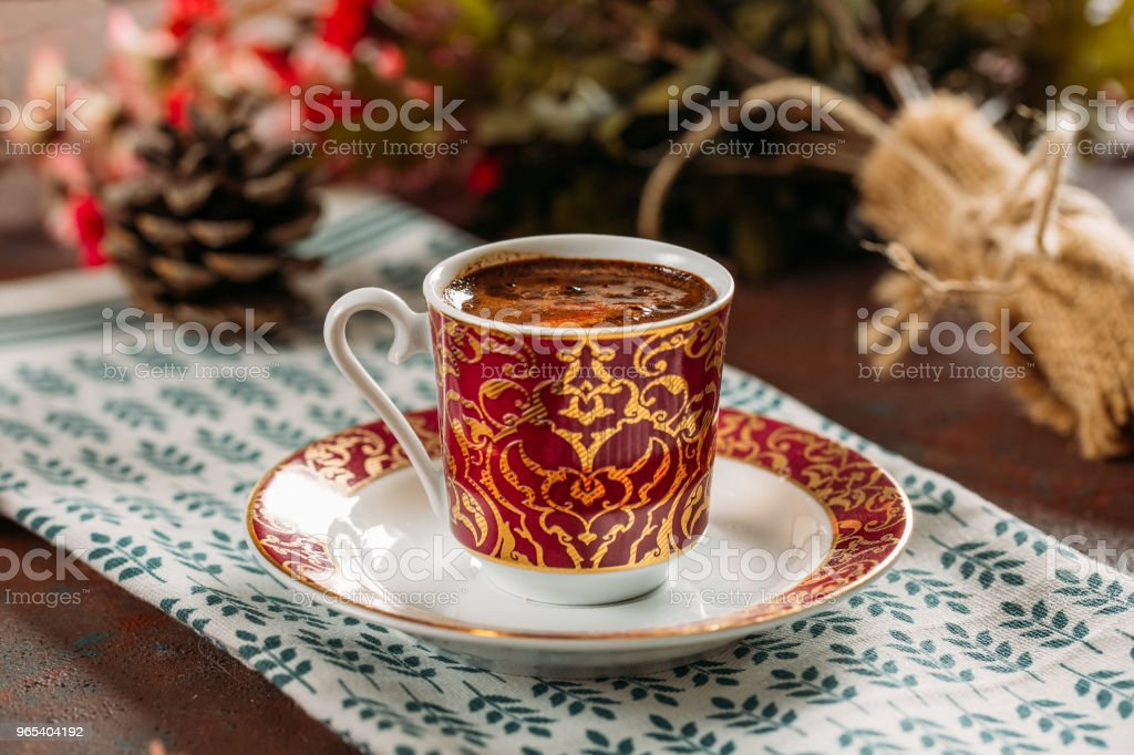 Traditional Turkish Coffee royalty-free stock photo