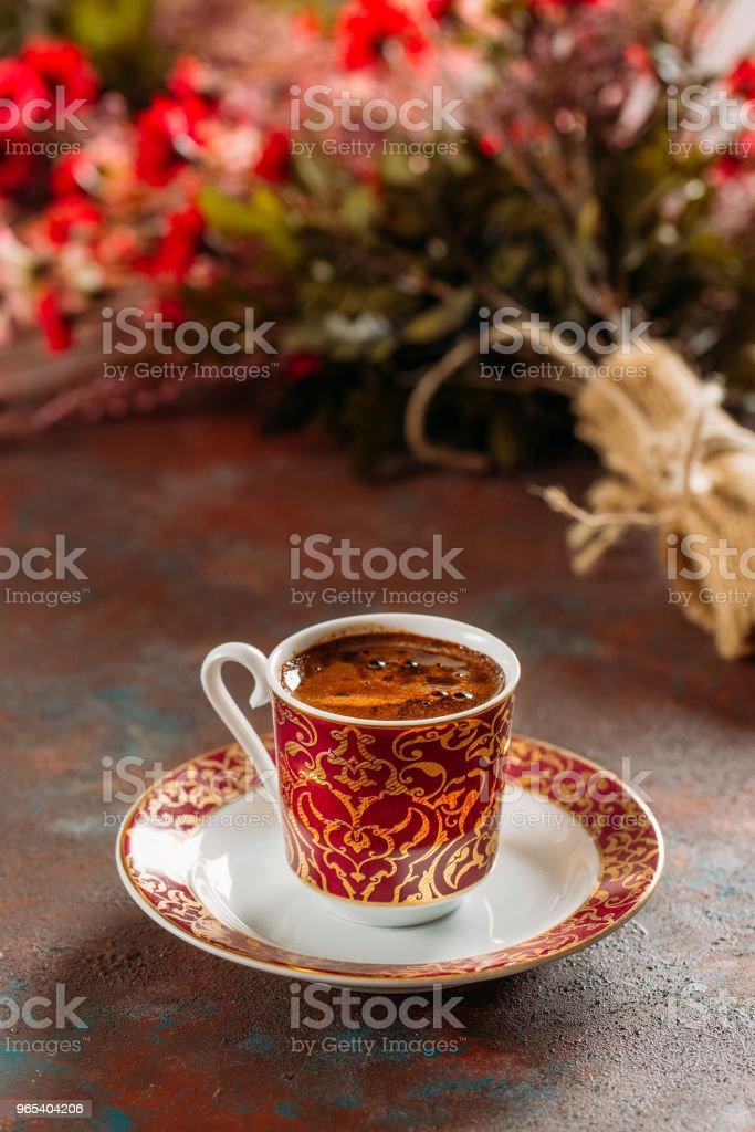 Traditional Turkish Coffee royalty-free stock photo