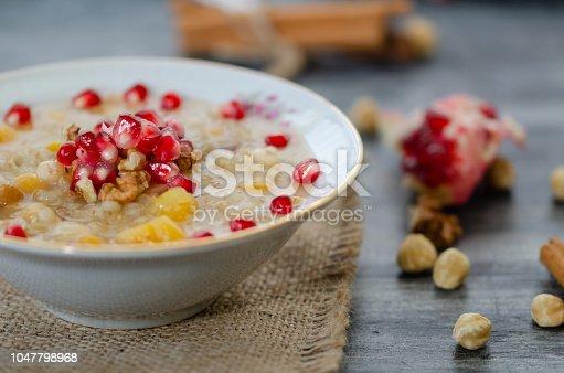 618202484 istock photo Traditional Turkish Dessert Ashure or ashura 1047798968