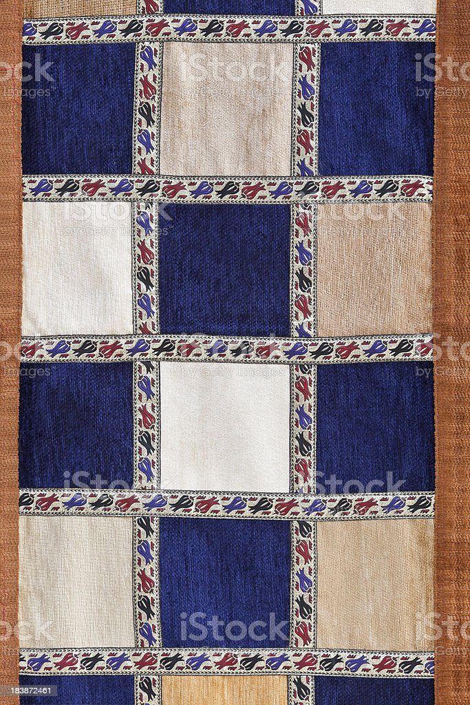 Traditional Turkish Rug royalty-free stock photo