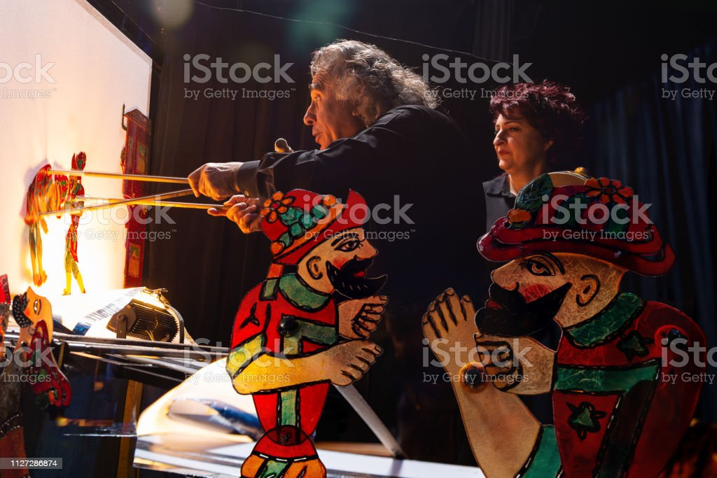 Traditional Turkish Shadow Play Karagoz And Hacivat Stock Photo Download Image Now Istock