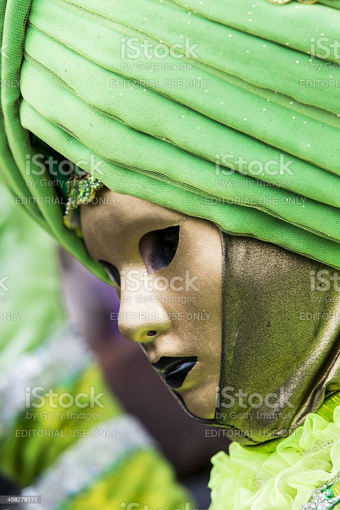 Traditional venetian carnival mask royalty-free stock photo