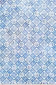 Traditional vinage portuguese decorative tiles azulejos