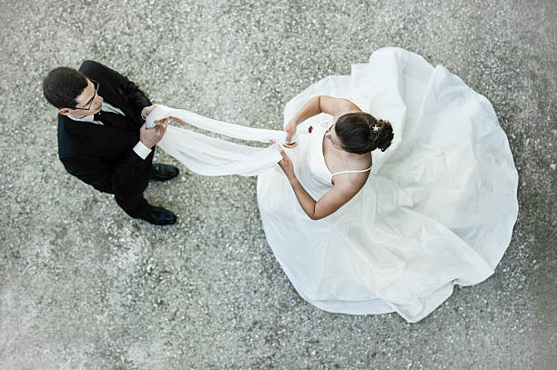 Traditional wedding stock photo