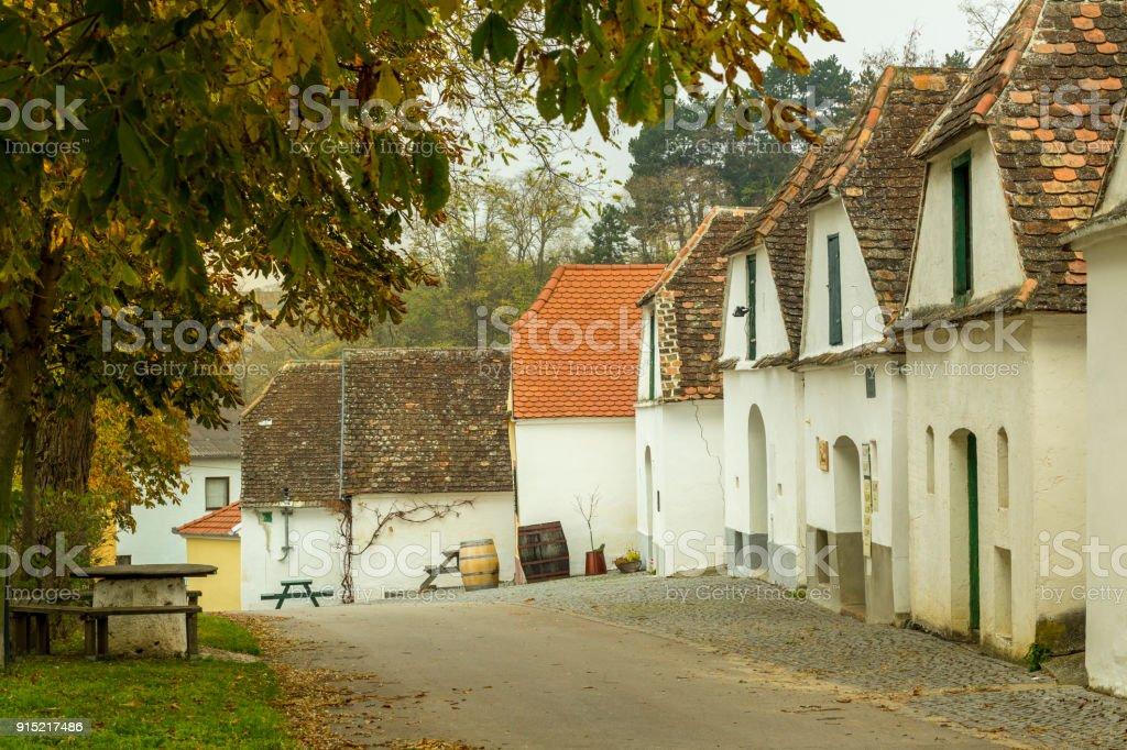 Traditionellen Weingut Keller in Niederösterreich – Foto