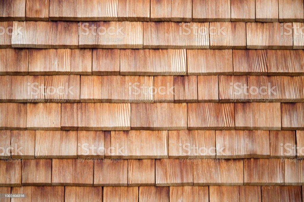 Bardeaux en bois traditionnels - Photo