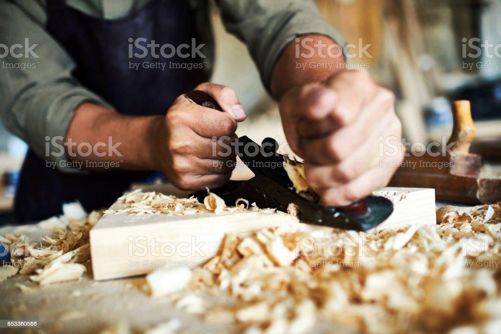 Traditionellen holzverarbeitenden Handwerk – Foto