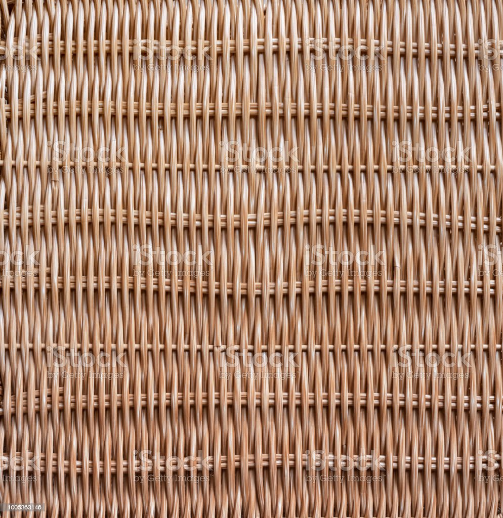 Traditional Woven Wood Rattan Pattern Nature Texture For Furniture