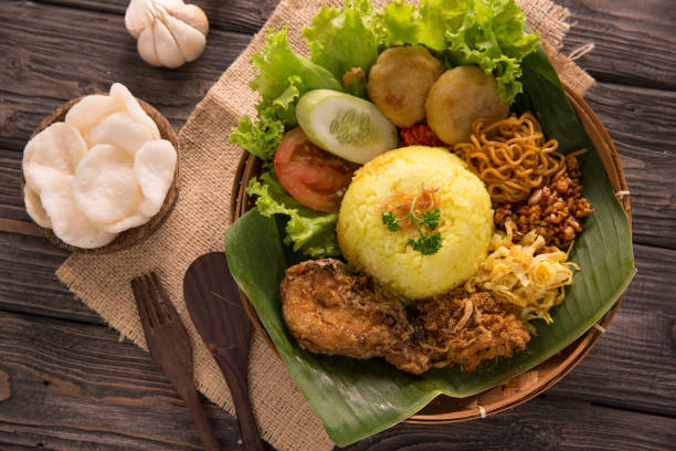 Traditioneller gelber Reis – Foto