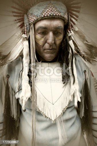 Native American with retro feel