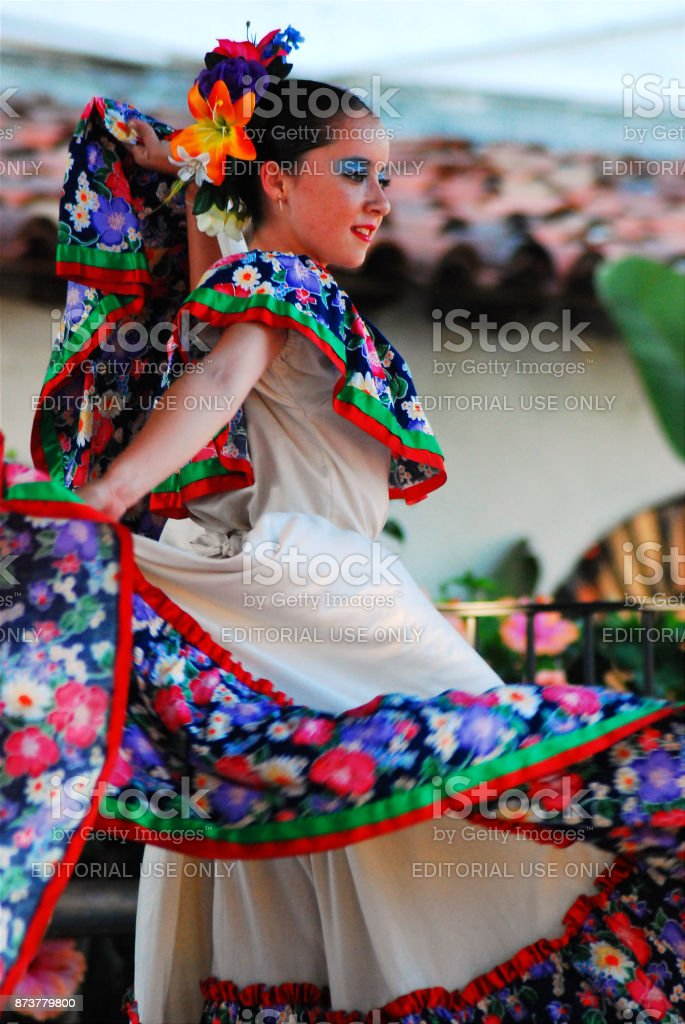 Traditonal Mexican Dance stock photo