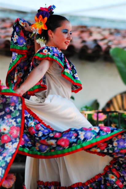 Traditonal Mexican Dance stock photo