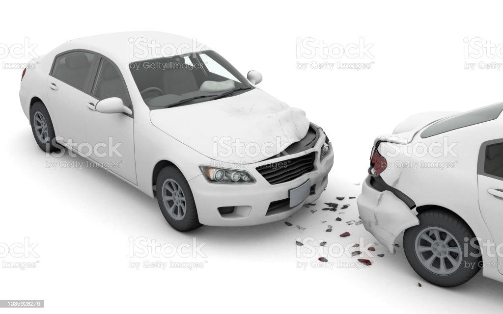 Traffic accident stock photo
