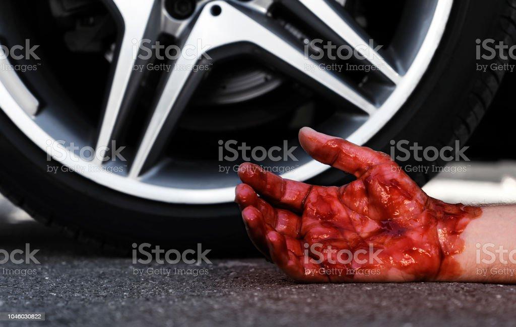 Acidente de trânsito - foto de acervo