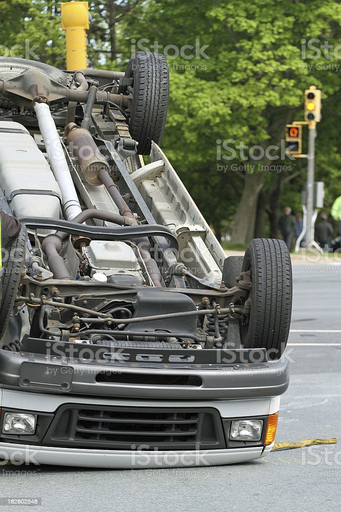 Traffic Accident royalty-free stock photo