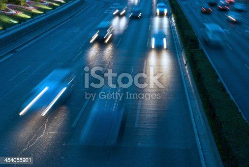 istock traffic city in night 454055921