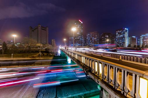 175130389 istock photo traffic city night 161103897