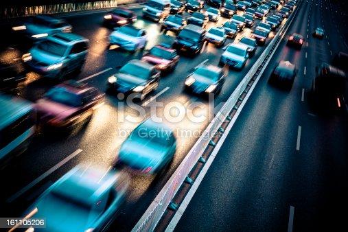 istock traffic city night 161105206