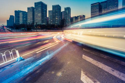 175130389 istock photo traffic city night 162058997