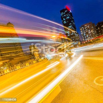 istock traffic city night 170098426
