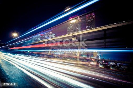 istock traffic city night 174944411