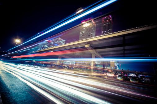 175130389 istock photo traffic city night 174944411